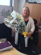 Karen celebrating 16 years at CTS
